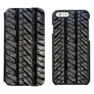 Cool Tire Rubber Automotive Texture Decor Incipio Watson™ iPhone 6 Wallet Case