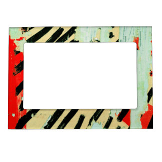 COOL Torn Wall Poster Magnetic Frame