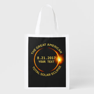 Cool Total Solar Eclipse 8.21.2017 USA Custom Text