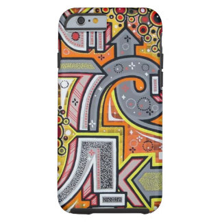 Cool Tough Graffiti iPhone 6 case Tough iPhone 6 Case
