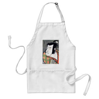 Cool Traditional Oriental Japanese Samurai tattoo Adult Apron