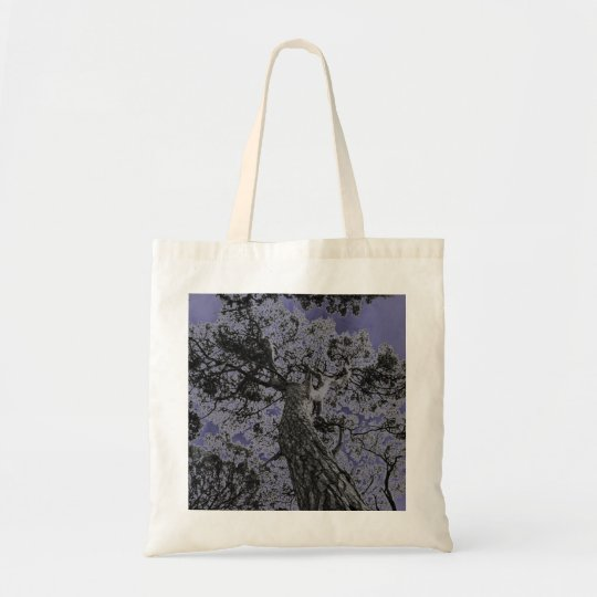Cool tree art print bag