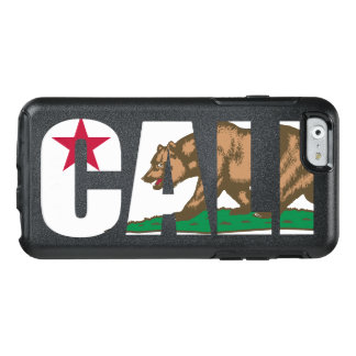 Cool Trendy Cali California Flag OtterBox iPhone 6/6s Case