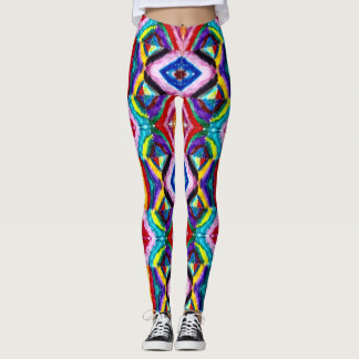 Cool Trendy Hip Acid Rave Party Leggings