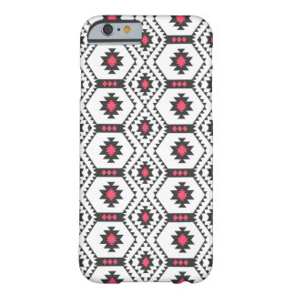 cool trendy tribal geometric triangles pattern barely there iPhone 6 case