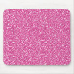 Cool trendy vibrant neon hot pink faux glitter