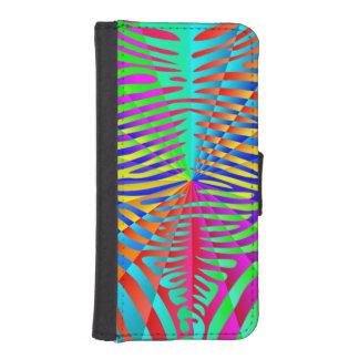 Cool trendy Zebra pattern colorful rainbow stripes