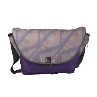 Cool Triangles Graphic Art Messenger Bag