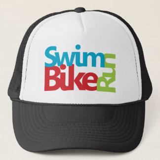Cool Triathlon logo Trucker Hat