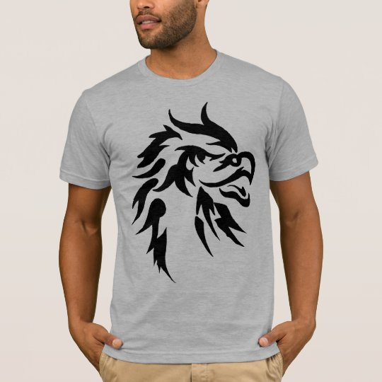Cool Tribal Eagle Tattoo Designs Urban T Shirt