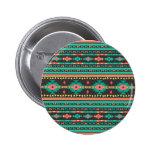Cool tribal ethnic Navajo geometric pattern 6 Cm Round Badge