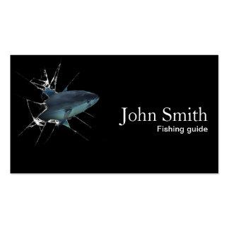 Cool Tuna Fishing Guide Business Card