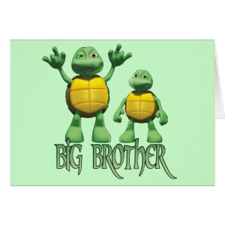 Cool Turtles Big  Brother Card