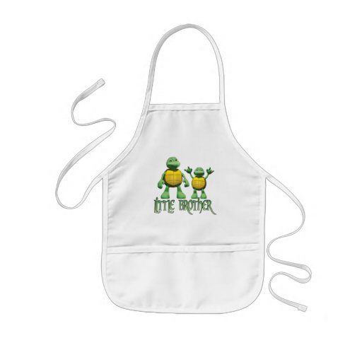 Cool Turtles Little Brother Aprons