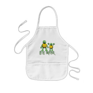 Cool Turtles Little Brother Kids' Apron