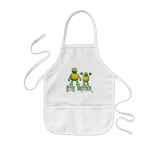 Cool Turtles Little Brother Kids Apron