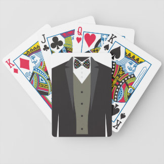 Cool Tuxedo Playing Cards