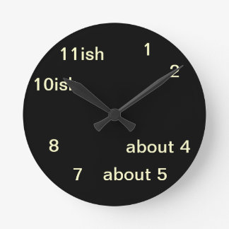 Cool Uber Geek Hipster Black One-ish Clock 2