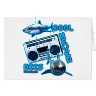 cool unique retro design custom greeting card