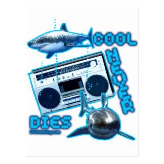 cool unique retro design custom funny graphic art postcard