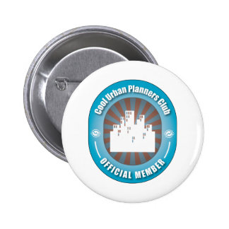 Cool Urban Planners Club 6 Cm Round Badge