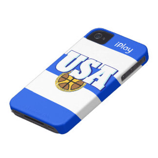 Cool USA Sports Basketball Fan iPhone Case Gift iPhone 4 Covers