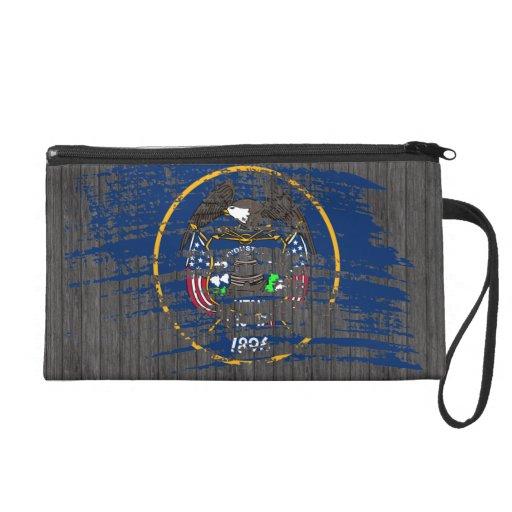 Cool Utahan flag design Wristlet