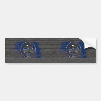 Cool Utahan flag design Bumper Stickers
