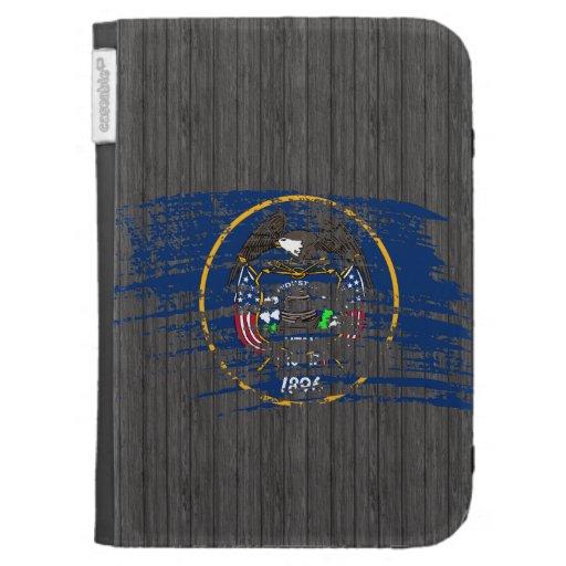 Cool Utahan flag design Kindle Cover