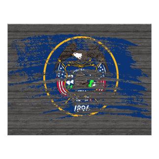Cool Utahan flag design Flyer Design