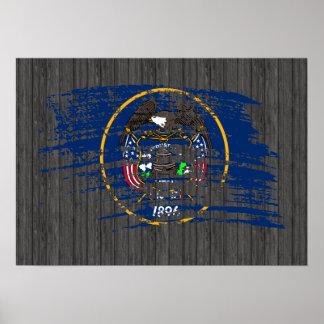Cool Utahan flag design Posters