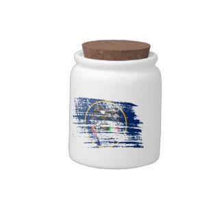 Cool Utahan flag design Candy Jar