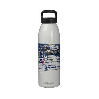 Cool Utahan flag design Water Bottle