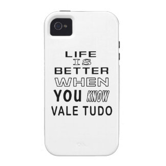 Cool Vale Tudo Designs Case-Mate iPhone 4 Cover