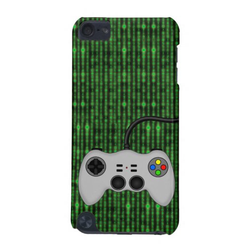 Cool Video Game Controller Vector in Grey iPod Touch 5G Cover