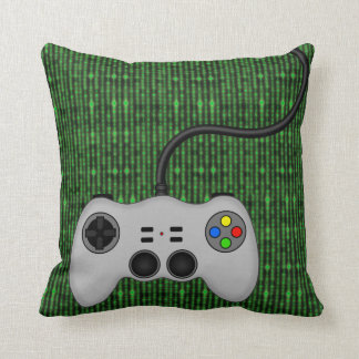 Cool Video Game Controller Vector in Grey Cushion