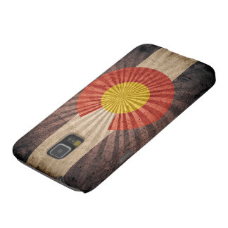 Cool Vintage Colorado Flag Galaxy S5 Case