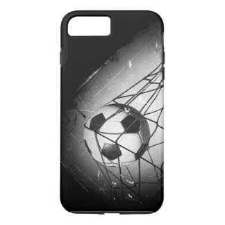 Cool Vintage Grunge Football in Goal iPhone 8 Plus/7 Plus Case