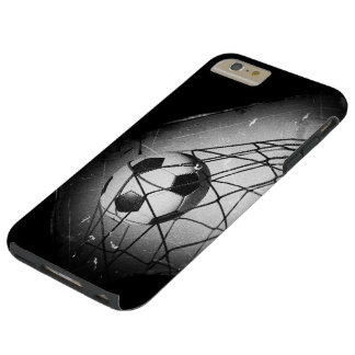 Cool Vintage Grunge Football in Goal Tough iPhone 6 Plus Case