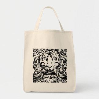 cool vintage king of the jungle tiger design