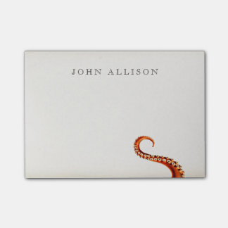 Cool Vintage Kraken Tentacles Nautical Post-it Notes