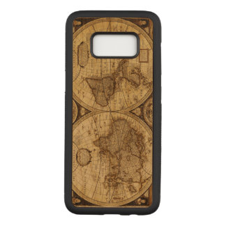 Cool Vintage old world Maps Antique map Carved Samsung Galaxy S8 Case