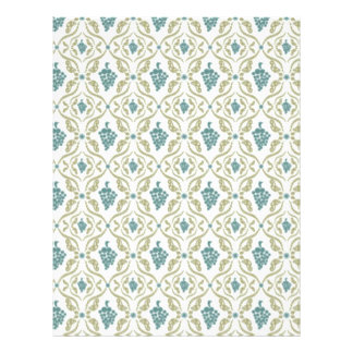 cool vintage pattern 21.5 cm x 28 cm flyer