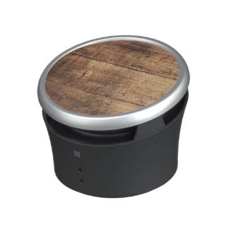 cool vintage scratched wood texture bluetooth speaker