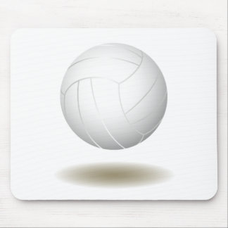 Cool Volleyball  Emblem 1 Mouse Pad