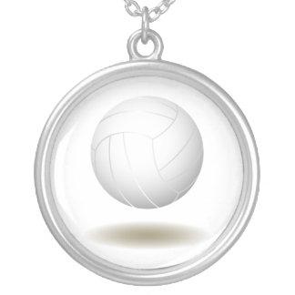 Cool Volleyball Emblem 1 Pendant