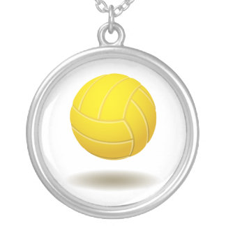 Cool Volleyball Emblem 2 Necklace