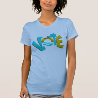 Cool Vote For Obama T-shirt 2012