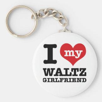 Cool Waltz designs Keychain