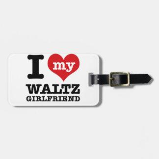 Cool Waltz designs Luggage Tag